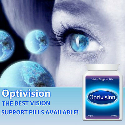 Optivision Vision Support Pills Eye Tablets Helps Eye Health Improve Vision Fas