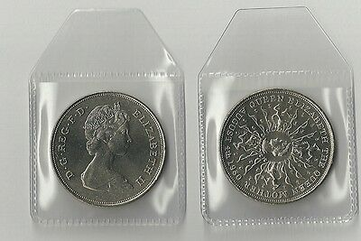 Queen Mother 80th Birthday Crown 1980 UNCIRCULATED FREE P&P