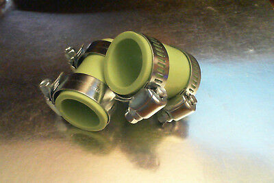 Yamaha Banshee rubber exhaust pipe clamps all years fmf,dg, Factory (Green)