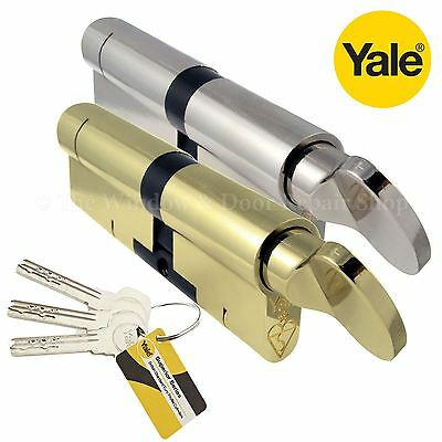 YALE Superior Thumb Turn Cylinder Lock Anti Snap Bump High uPVC Door Euro Barrel