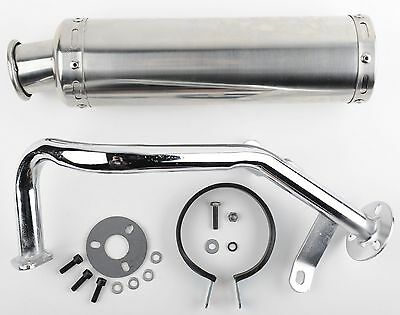 Scooter Performance Exhaust 50cc GY6 Stainless Steel