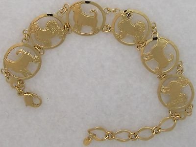 Chihuahua Jewelry Gold Bracelet by Touchstone