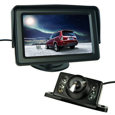 "Car Rear View Kit 4.3"" Tft Lcd Monitor + Ir Night Vision Car Reversing Camera"