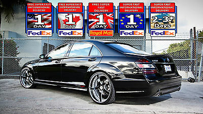 Mercedes S Class W221 S63 Fully Adjustable Lowering Kit / Links /module Complete