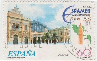 (SPC4) 1995 Spain 60p Cordoba station ow3367