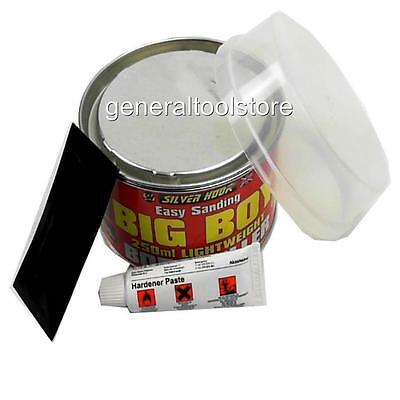 Big Boy Lightweight Body Filler 250 Ml Easy Sanding Cars Boat Metal Red Bc20 57