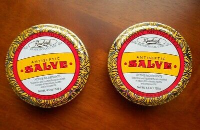 Rawleigh Antiseptic Salve   ( Set of 2 ) 5 oz. each