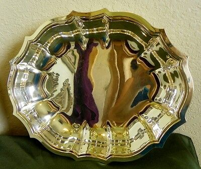 Beautiful Vintage **CHIPPENDALE** International Silver Company 695 Tray Dish