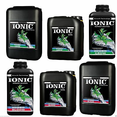 Ionic Growth Technology Hydro Bloom & Grow Nutrient Hard/Soft Water Hydroponic