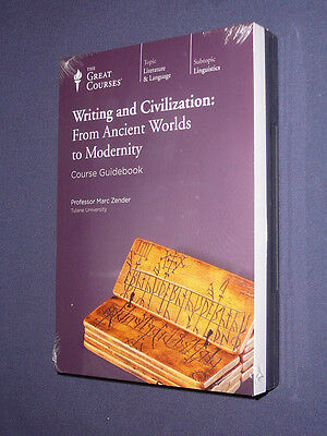 Teaching Co Great Courses DVDs       WRITING and CIVILIZATION      new & sealed