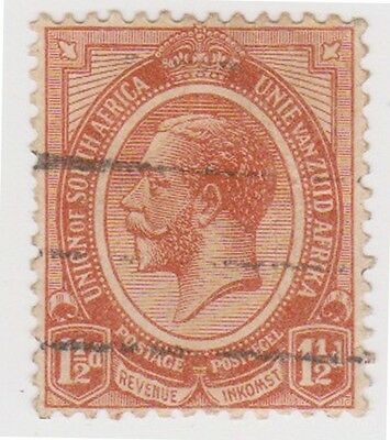 (RSA16) 1913 South Africa 1½d brown George V (A) ow5