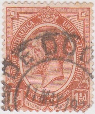 (RSA18) 1913 South Africa 1½d Brown George V (C) ow5