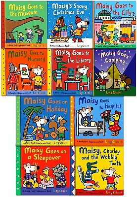 Maisy Mouse Loves Collection 10 Books Set Lucy Cousins Early Learners Childrens