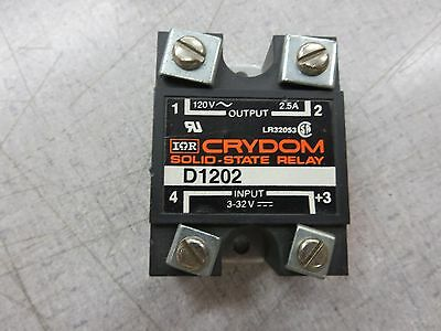 Crydom D1202 Solid State Relay (120VAC, 2.5A, 3-32VDC)
