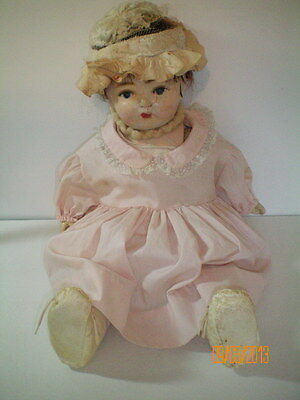 """K & K Antique 20"""" Composition Doll Germany 1915-1930 Mama Doll Free Shipping"""