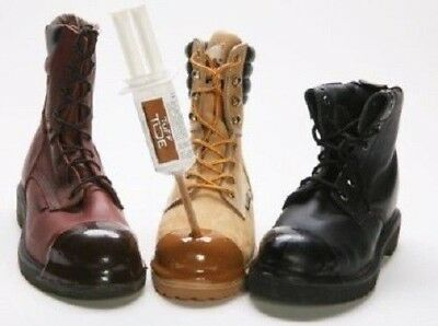 Tuff Toe Polyurethane Work Boot Protector Chemical Water Resistant Kit 6 Colors