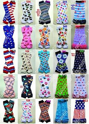5x Baby Toddler Arm Leg Warmers Boys Girls Children Socks Legging Gym Ballet NEW