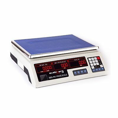 PRICE COMPUTING SCALE SCALES 30 kg / 2 g LED NEW  ^