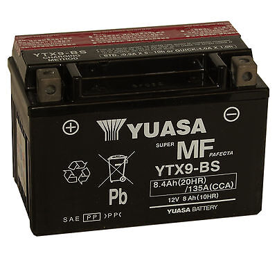 Genuine Yuasa YTX9-BS Motorbike Motorcycle Battery