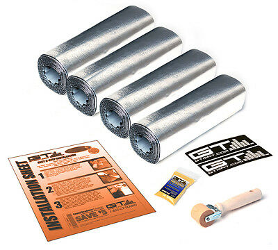 "TWO DOOR KIT 12""X36"" SHEETS GTMat Ultra 80mil Car Sound Deadener Insulation Mat"
