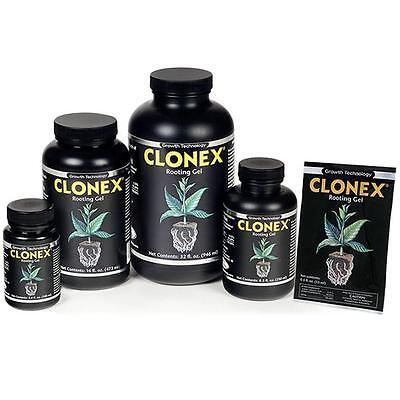 Clonex Gel Rooting Compound - stem cuts root cloning propagation transplanting