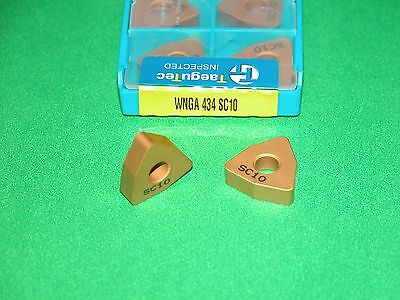 WNGA 434 SC10 INGERSOLL CERAMIC INSERTS for Cast Iron ** 10 PIECE PACK **