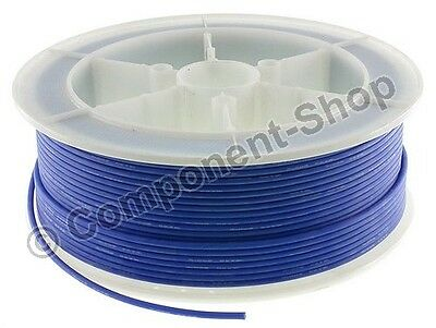 14AWG BLUE Silicone Wire 1m Super flexible high temperature. UK seller