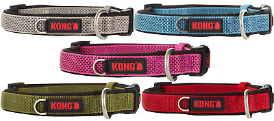 KONG Dog Collars Padded S M L XL BRAND NEW Assorted Colors!!!