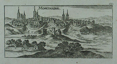 Mortain Kupferstich v. Christoph Riegel 1690