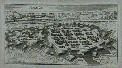 Nancy Kupferstich v. Christoph Riegel 1690