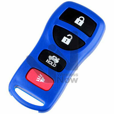 New Blue Replacement Keyless Entry Remote Key Fob Transmitter Clicker Alarm