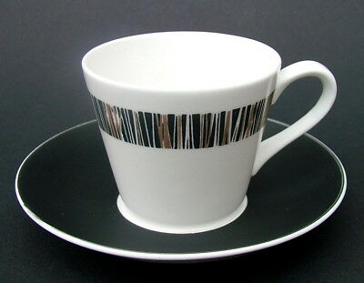 Royal Tuscan 1960's Cascade D2822 Pattern Coffee Cups & Saucers Look in VGC