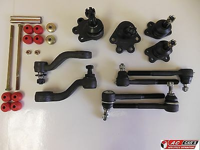Inner Outer Tie Rod End +Stabalizer Sway Bar Links +Idler Pitman Arm Ball Joints