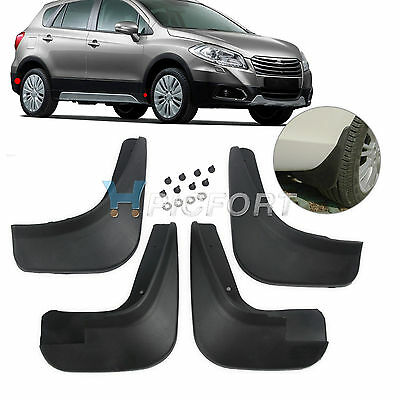 4x FIT FOR 2006+ SUZUKI SX4 SEDAN MUD FLAP SPLASH GUARD MUDGUARD 2013 2012 2011