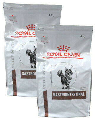 2x4kg Royal Canin Gastro Intestinal GI 32 Gatto Diete Veterinarie