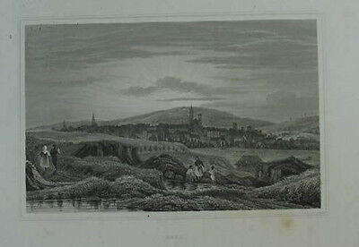 Eger (Cheb) Stahlstich 1850