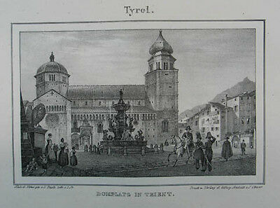 Trient Lithographie 1837