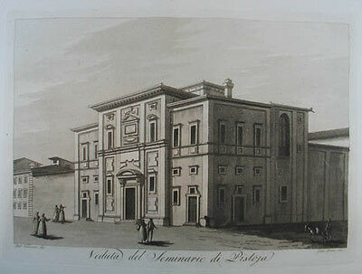 Pistoia Aquatinta in Sepiadruck 1801