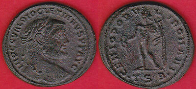 FOLLIS (28mm) 284-305AD  DIOCLECIANO,  Bronze,   ROMAN EMPIRE