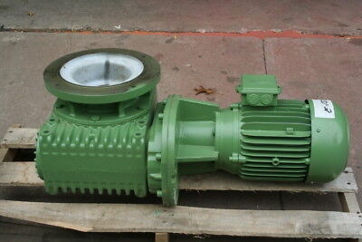 "Gear reducer Helical Worm 5.3 hp 50:1 2 3/4"" dual right angle Katt Lenze Unused"