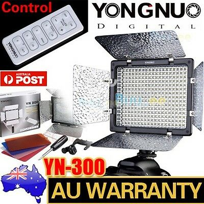 Yongnuo YN-300 II LED Video Light Lamp Camera Camcorder for Canon Nikon +Control