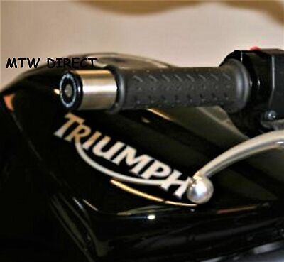 R&G Racing Bar End Weight Sliders Triumph Street Triple  675 2011 Model