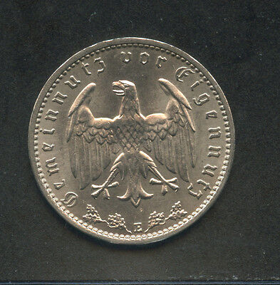 1938 - Lotto/m14664 - Germania - 1 Reichsmark - Zecca E