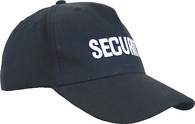Brand New Security Cap Hat Uniform