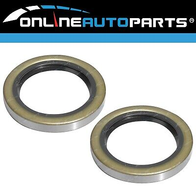 2 Rear Diff Axle Oil Seals suits Toyota Hilux Ute 2x4 4x4 4wd 1972~8/2008