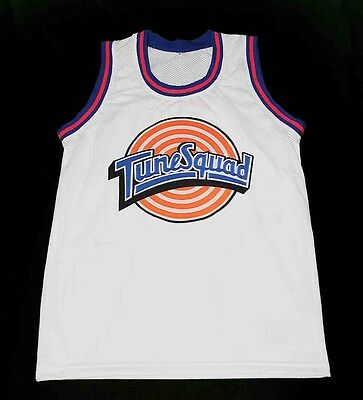 ae016d0006a Taz Tune Squad Space Jam Movie Basketball Jersey White Quality New Sewn Any  Size