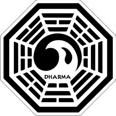"""LOST Dharma - The Tempest - Sticker - 3.5"""" x 3.5"""""""