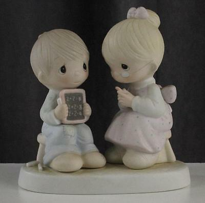 Vintage 1982 Figurine China Enesco Precious Moments  LOVE IS PATIENT E-9251
