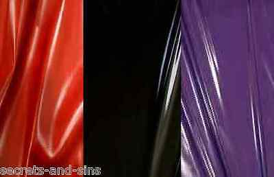 Double Sided Large King Size PVC Bedsheet, Massage Sheet Purple,Red or Black