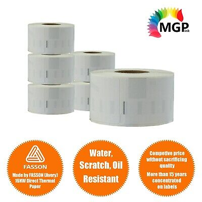 6 Compatible for Dymo / Seiko 99010 Label 28mm x 89mm Labelwriter450/450Turbo
